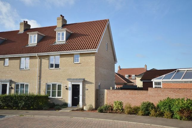 Thumbnail End terrace house to rent in Warren Avenue, Saxmundham