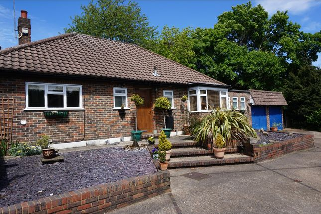 Thumbnail Detached bungalow for sale in Woodcote Valley Road, Purley