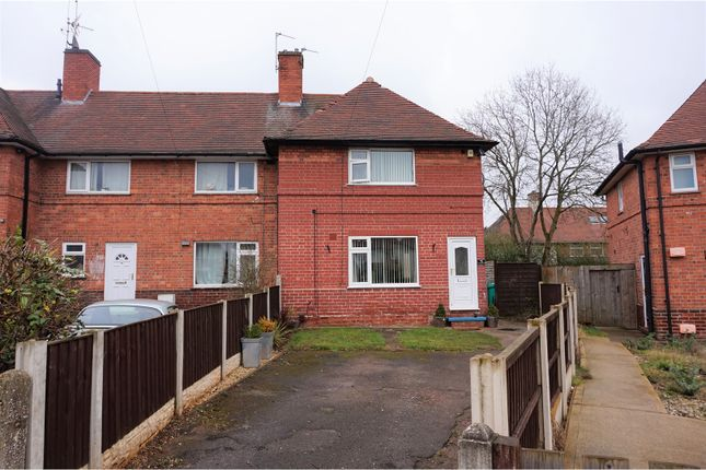 Thumbnail End terrace house for sale in Brinsley Close, Nottingham