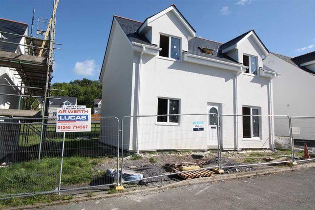 Thumbnail Detached house for sale in Llain Capelulo, Pentre Berw, Gaerwen