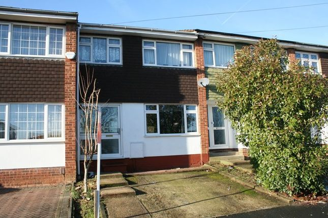 Thumbnail Terraced house for sale in Bamford Way, Collier Row, Romford