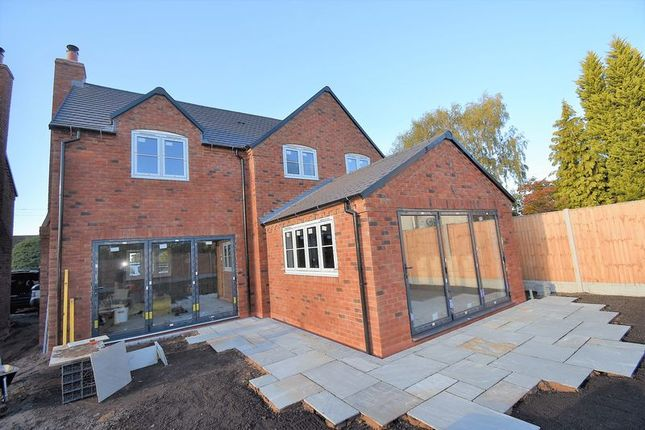 Thumbnail Detached house for sale in Plot 2 Wellington Road, Muxton, Telford