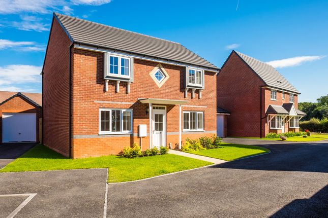 "Thumbnail Detached house for sale in ""Thornbury"" at Saxon Court, Bicton Heath, Shrewsbury"