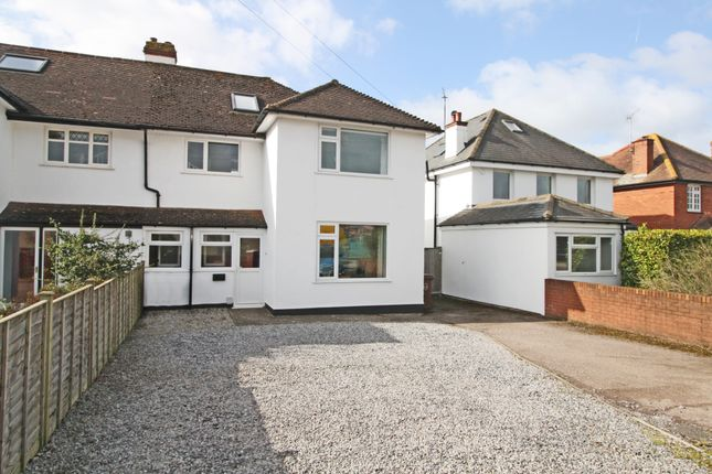 Thumbnail Semi-detached house for sale in Exeter Road, Topsham, Exeter