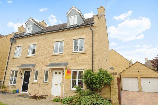 Thumbnail Semi-detached house for sale in Ashdale Avenue, Witney