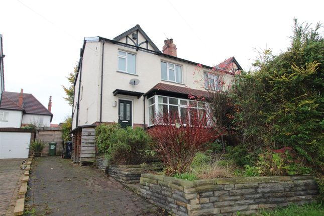 Thumbnail Semi-detached house for sale in Moor Park Villas, Headingley, Leeds