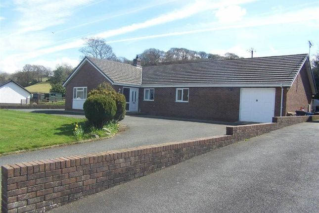 Thumbnail Detached bungalow for sale in Heol Dolanog, Ciliau Aeron, Lampeter