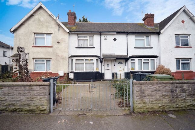 Thumbnail Terraced house for sale in Madoc Road, Tremorfa, Cardiff