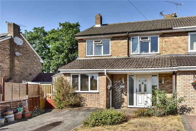 Thumbnail Semi-detached house for sale in Foxley Close, Blackwater, Surrey