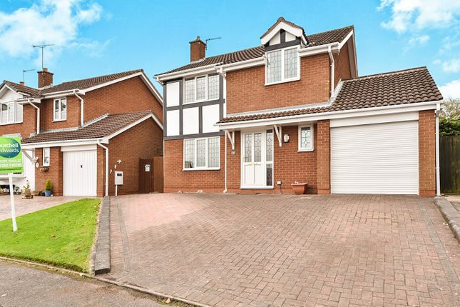 Thumbnail Detached house for sale in Orchid Close, Stapenhill, Burton-On-Trent