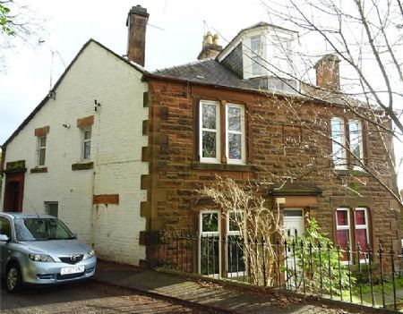 Thumbnail Maisonette for sale in 27 Lockerbie Road, Dumfries