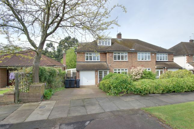 Thumbnail Semi-detached house for sale in Houndsden Road, Winchmore Hill