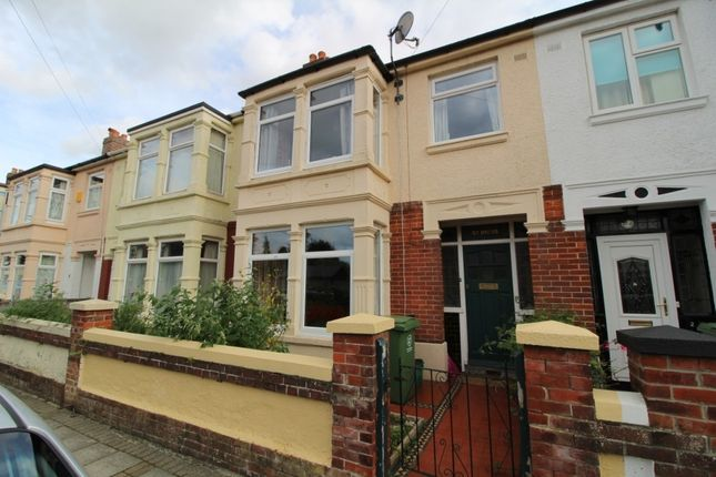 Thumbnail Terraced house to rent in Park Grove, Cosham, Portsmouth