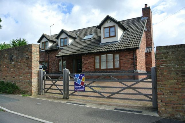 Thumbnail Detached house for sale in Blenheim Way, Yaxley, Peterborough