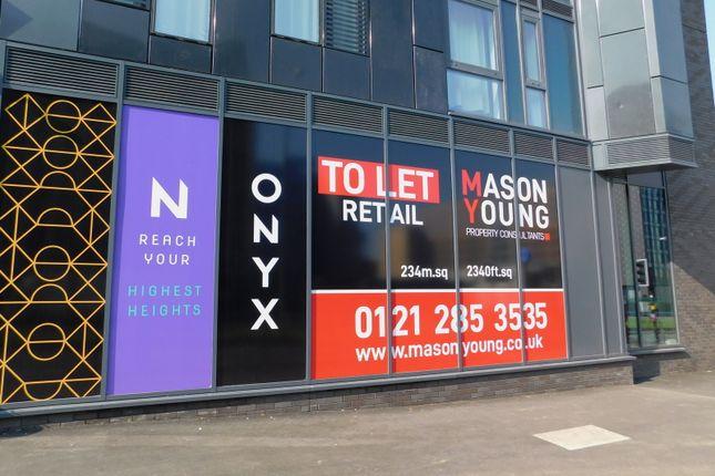 Thumbnail Retail premises to let in Onyx, Lancaster Circus, Birmingham