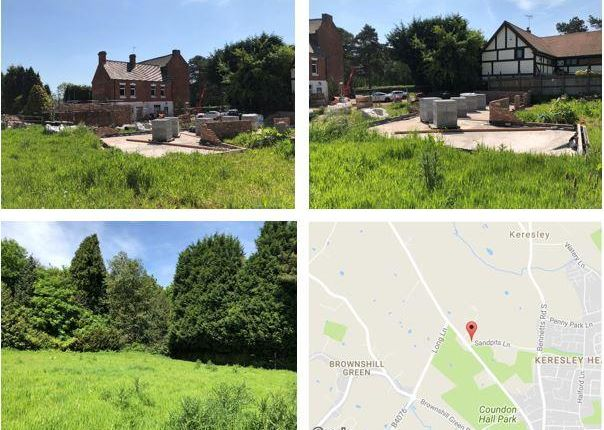 Thumbnail Land for sale in Land Adjoining Ashtree House, Land Adjoining Ashtree House, Sandpits Lane, Coventry