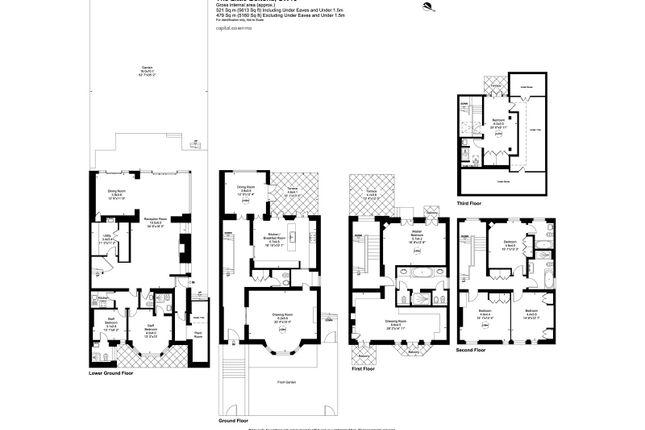 Floorplan of The Little Boltons, London SW10