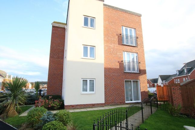Thumbnail Flat for sale in Burghley Close, Teal Farm Park, Washington