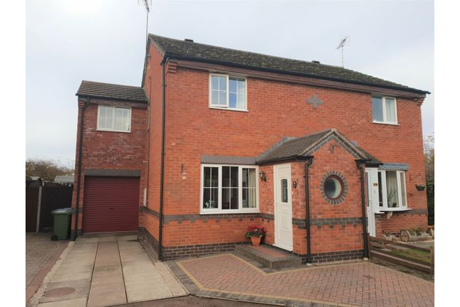 Thumbnail Semi-detached house for sale in Aspen Close, Alcester