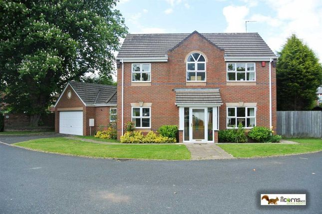 Thumbnail Detached house for sale in Dove Close, Walsall