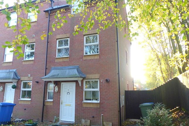 Thumbnail Town house to rent in Dunsil Close, Earlswood, Mansfield Woodhouse
