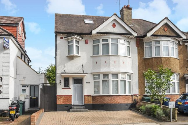 Thumbnail Semi-detached house to rent in Wentworth Avenue, Finchley N3,