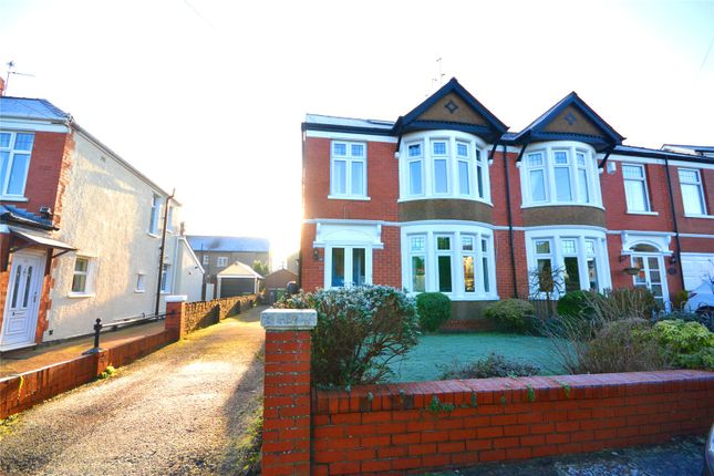 Thumbnail Semi-detached house for sale in Crystal Wood Road, Heath, Cardiff