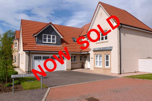 Thumbnail Detached house for sale in George Murray Close, Blairgowrie