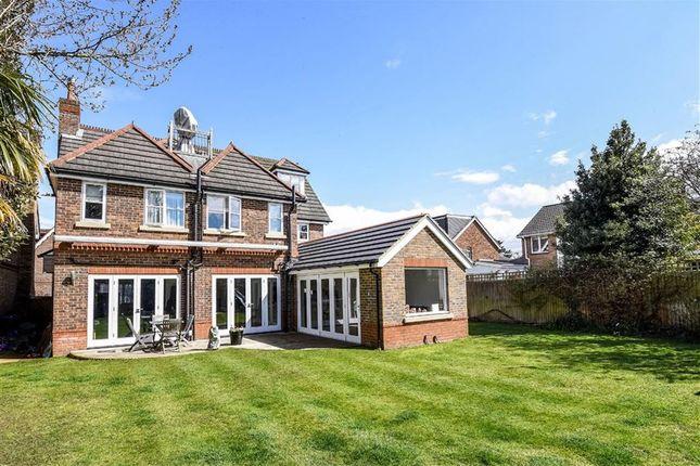 Thumbnail Detached house for sale in Bainbridge Close, Richmond, Surrey
