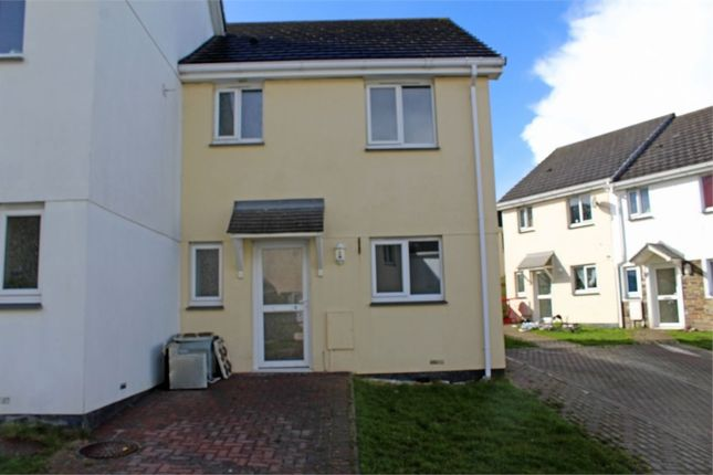 Thumbnail Semi-detached house for sale in Stevens Court, Bugle, St Austell, Cornwall