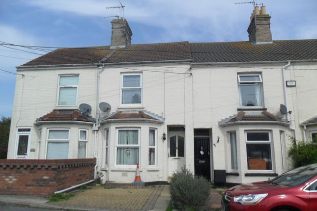Thumbnail Terraced house to rent in Field Lane, Kessingland, Lowestoft
