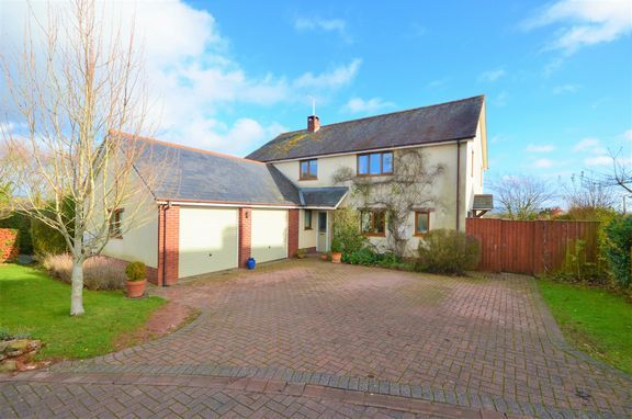 Thumbnail Detached house for sale in Westdown, Ash Thomas, Tiverton