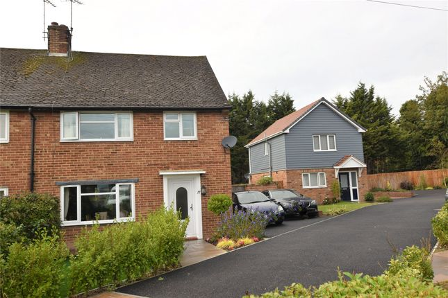 Thumbnail Semi-detached house for sale in Barnfield Crescent, Kemsing, Sevenoaks, Kent