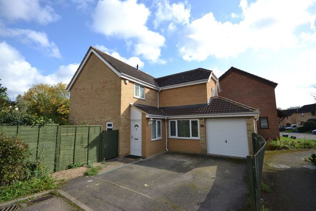 Thumbnail Detached house for sale in Lakeside Drive, Ecton Brook, Northampton