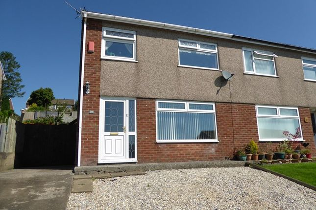 Thumbnail Semi-detached house to rent in Bryn Owain, Caerphilly
