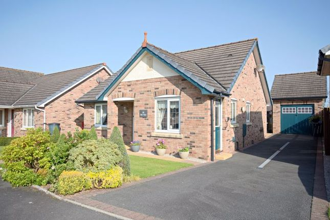 Thumbnail Detached bungalow for sale in The Hawthorns, Wigton