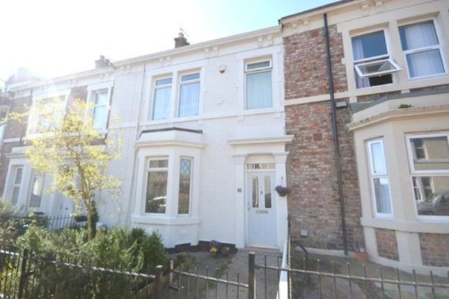Thumbnail Terraced house to rent in Poplar Crescent, Bensham, Gateshead
