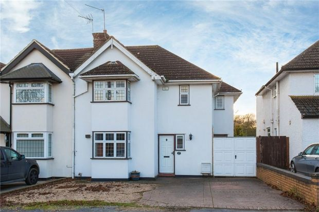 4 bed semi-detached house for sale in Somerset Way, Richings Park, Iver, Buckinghamshire