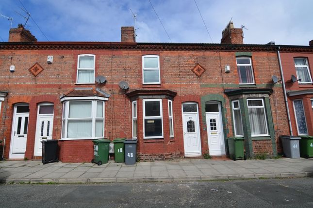 Thumbnail Terraced house to rent in Oriel Road, Tranmere, Birkenhead