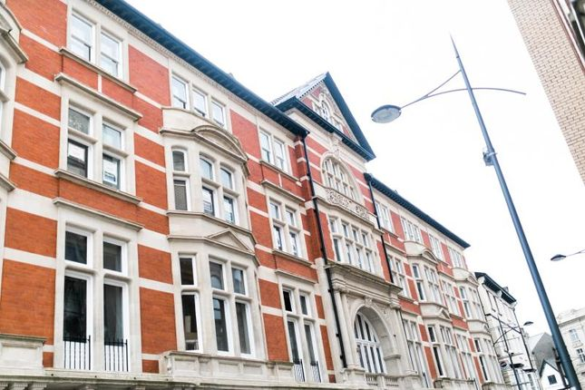Thumbnail Flat to rent in Kings Court, 6 High Street, Newport, Gwent