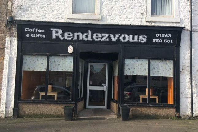 Thumbnail Restaurant/cafe for sale in Main Street, Kilmaurs, Kilmarnock