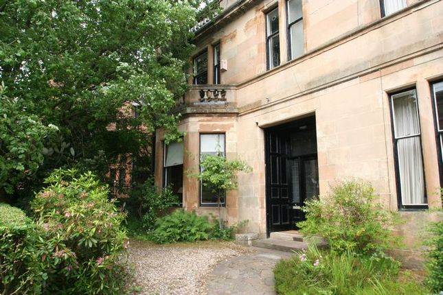 Thumbnail Flat to rent in 8 Crown Road North, Hyndland, Glasgow