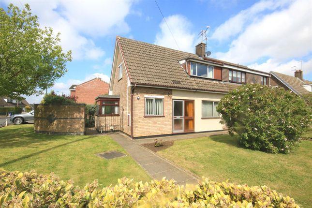 Thumbnail Semi-detached bungalow for sale in Ravenfield Road, Armthorpe, Doncaster