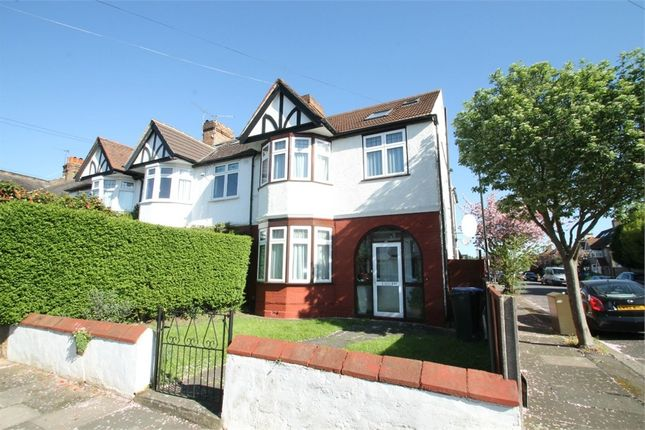 Thumbnail End terrace house for sale in Ridge Road, London