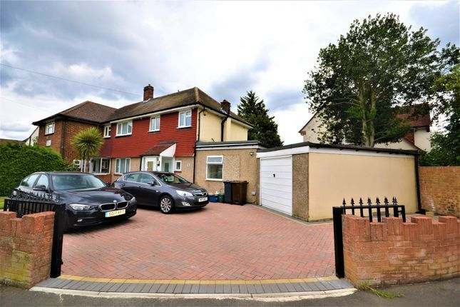 Thumbnail Semi-detached house for sale in Southville Close, Feltham, Greater London