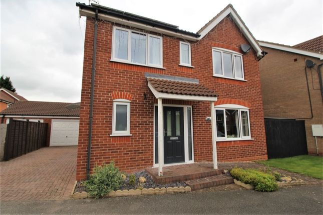 Thumbnail Detached house for sale in Allington Drive, Great Coates, Grimsby
