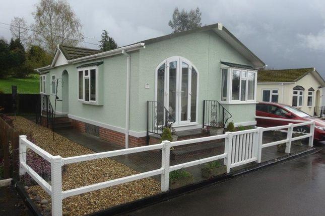 Thumbnail Mobile/park home for sale in Belindas Park, Milkwall, Coleford