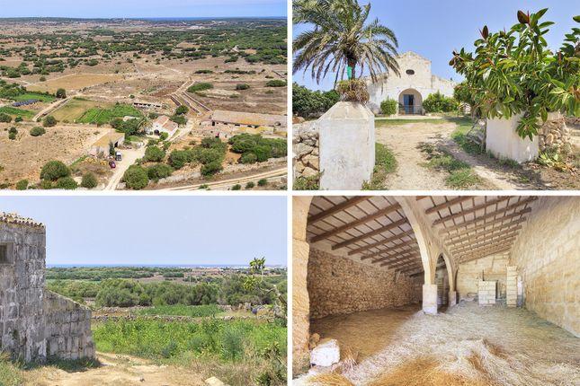 Thumbnail Country house for sale in Ciutadella De Menorca, Balearic Islands, Spain