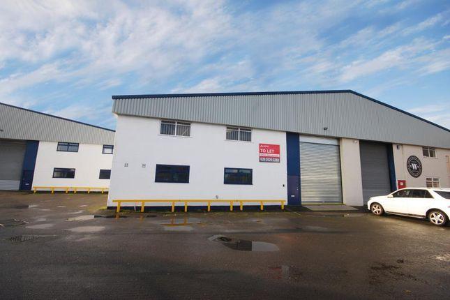 Thumbnail Industrial to let in Senlan Industrial Estate, Riverbridge Road, Cardiff