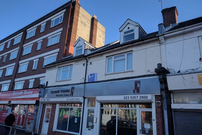 Thumbnail Flat to rent in 230-232 London Road, Portsmouth